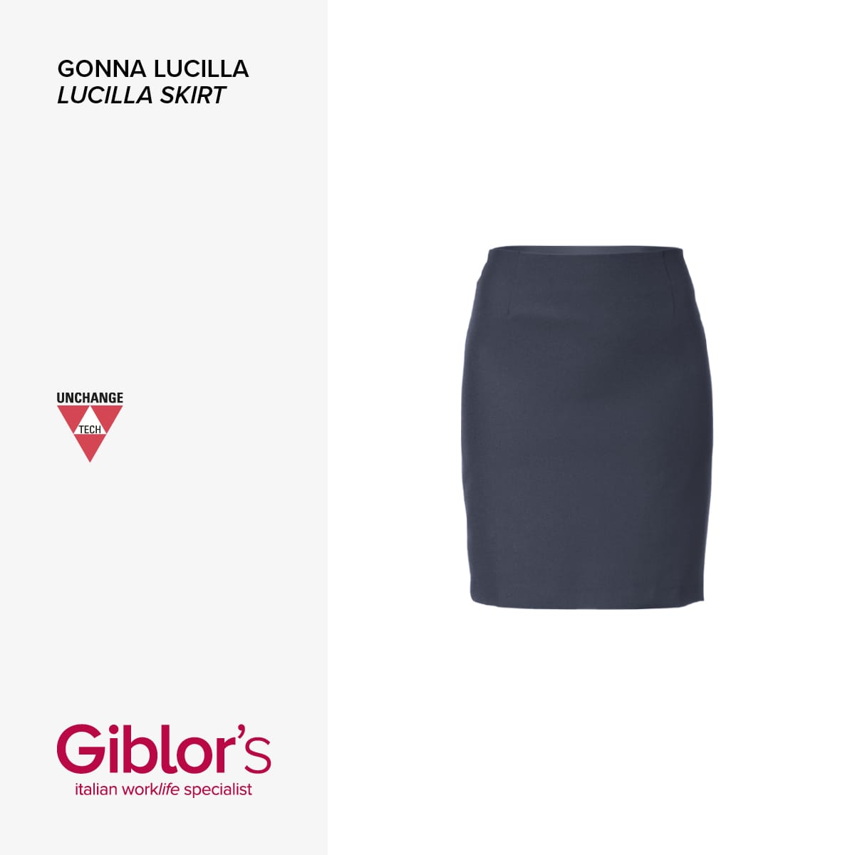 Giblor's - GONNA LUCILLA - Art 7M1707 Blu