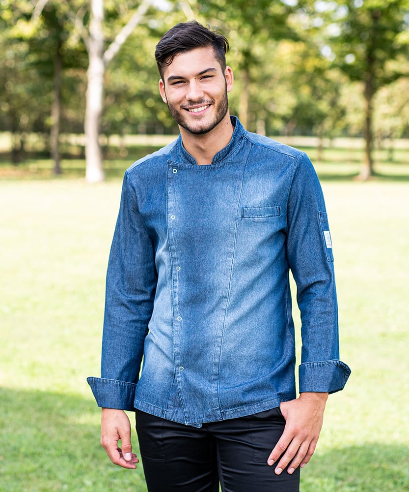 Giblor's Giacca cristian blu jeans