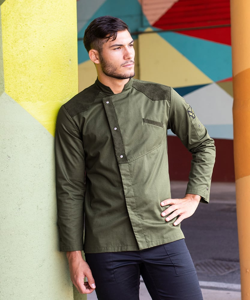 Giblor's giacca goose verde militare