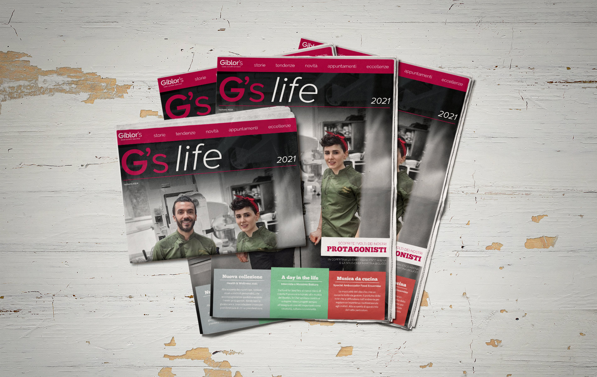 Giblor's - G's life 2021 cover